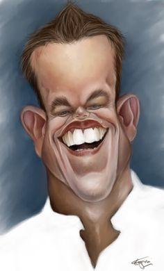 Caricature Collection: Matt Damon