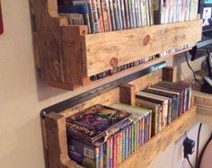 Pallet Wood DVD Holder/Shelf