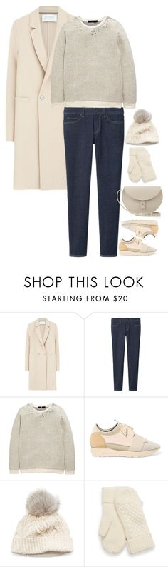 """""""Untitled #6282"""" by miki006 ❤ liked on Polyvore featuring Harris Wharf London, Uniqlo, Balenciaga, SIJJL and PB 0110"""