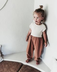 Bebe Organic: Spring 2018 — mini style - sweetest little outfit from Zara Lamey 🌿☺️ - So Cute Baby, Baby Kind, Cute Babies, Baby Baby, Pretty Baby, Fashion Kids, Baby Girl Fashion, Toddler Fashion, Fashion 2020