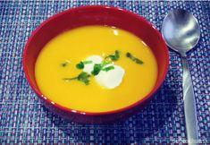 Skvelá krémová Hokkaido-vá polievka Thai Red Curry, Ethnic Recipes, Food, Kids, Hokkaido, Young Children, Boys, Essen, Meals