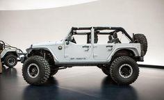 Jeep Wrangler Mopar Recon concept