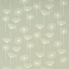 Sanderson - Traditional to contemporary, high quality designer fabrics and wallpapers | Products | British/UK Fabric and Wallpapers | Dandelion Embroidery (DOPEDA305) | Options 10 Embroideries
