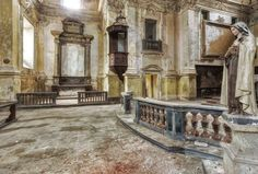 Captured in the abandoned Chiesa Santa Rita in Italy by Stefan Baumann on 500px
