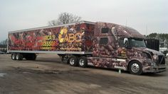 Talk about large, high impact graphics--this wrap for ABC Recycling Inc is sure to draw 24/7 attention!