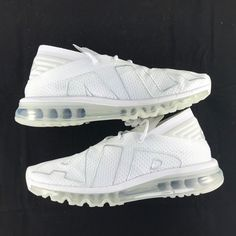 wholesale dealer 10c42 b43b9 Nike Air Max Flair Triple White Pure Platinum 942236-100 Men s 8-13 NEW  Shoes, Afflink