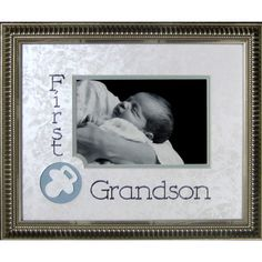 First Grandson Frame Photographic Print                                                                                                                                                     More