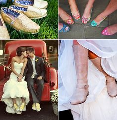 newport wedding shoes 2- love the yellow converse