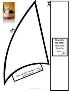 Shark Hat Headband for Ocean Plays or Celebrations by Teac Beach Theme Preschool, Preschool Themes, Preschool Activities, Vocabulary Activities, Ocean Crafts, Fish Crafts, Dinosaur Crafts, Shark Fin Hat, Baby Shark