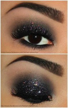 Perfect New Years Eve Makeup: