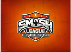 Smash League -- sports logo (MMA)
