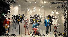 Implosion of Butterflies home at Steffl, Vienna   visualmerchtoday