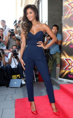 Nicole Sherzinger in the new jumpsuit by Three Floor - in stock now! HtheCx
