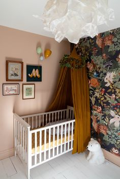 Modern Victorian, Victorian Homes, Victorian Terrace, Box Room Nursery, Baby Room, Girl Nursery, Nursery Ideas, Room Ideas, Nursery Inspiration