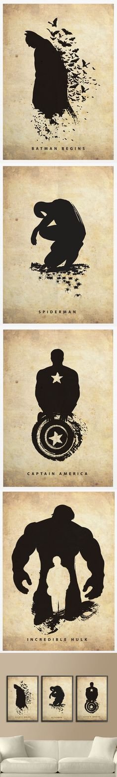Posters d'ombres de Super-héros et Star Wars (com imagens) Marvel Vs, Marvel Dc Comics, Comic Books Art, Comic Art, Avengers, Super Hero Shirts, Star Wars, Bd Comics, Geek Art