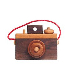 Harvey - for paris - Wooden Toy Camera | Handmade Wooden Camera Toy | Brimful Baby Toys