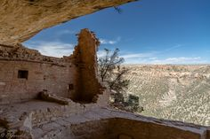 Balcony House in the Mesa Verde National Park, Colorado, USA. Set on a high ledge facing east, Balcony House with 45 rooms and 2 kivas, would have been cold for its residents in the winter.