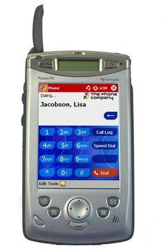 Hewlett Packard HP Jornada 928 SmartPhone (2002)