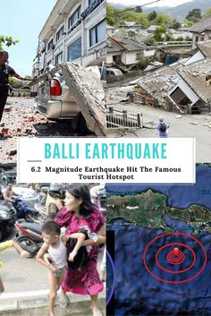 The Famous Tourist Hotspot Bali Got Hit by Massive Earthquake with Magnitude 6.2