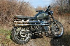 """Reader Ride. A Triumph Scrambler In It's """"Native"""" Environment 