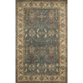 Found it at Wayfair - Charisma Parson Blue / Ivory Area Rug