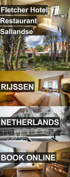 Hotel Fletcher Hotel Restaurant Sallandse Heuvelrug in Rijssen, Netherlands. For more information, photos, reviews and best prices please follow the link. #Netherlands #Rijssen #hotel #travel #vacation