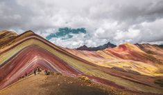 Join us for a trip of a lifetime to Peru. You'll have the chance to hike up the Rainbow Mountain and Machu Picchu. Book your next solo adventure today. Best Holiday Destinations, Top Travel Destinations, Cusco, Ausangate Trek, Formations Rocheuses, Lake Atitlan, Salar De Uyuni, Lake Titicaca, Ruins