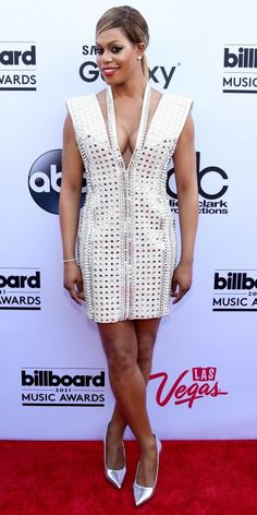 See All the Hottest Looks from the 2015 Billboard Music Awards - Laverne Cox from #InStyle