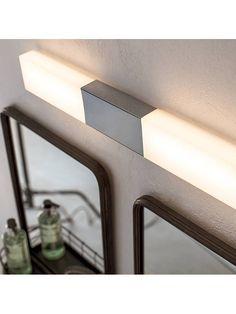 BuyPhilips Seabird LED Bathroom Wall Light, Chrome Online at johnlewis.com