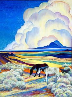 Lava Fields ~ Sally Bartos, New Mexico Artist