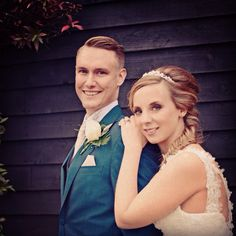 Beautiful couple at #vaultymanor