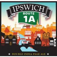 Ipswich Ale Brewery - Route 1A - Featured Beer November 2016 #dipa #ipswichalebrewery #beer #craftbeer #gift