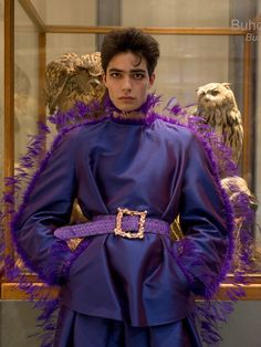 Gender Bender: Exploring the Cultural Shift Towards Gender Fluidity Palomo Spain Spring 2019 News Fashion, Queer Fashion, Androgynous Fashion, High Fashion, Fashion Show, Fashion Outfits, Fashion Design, Androgynous Girls, Tomboy Outfits