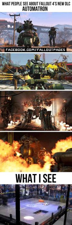 The first Fallout 4 DLC comes out March 22. In case you missed the trailer you can watch it here.  fallout 4 fallout fallout dlc fallout 4 dlc fallout automatron