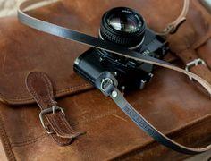 leather camera strap, handmade leather camera straps, camera straps