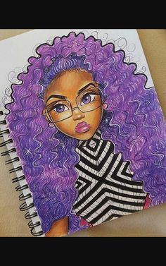 Goddess 💜💜💖💕💜💜 Hope that everyone is fine . Purple Goddess 💜💜💖💕💜💜 Hope that everyone is fine . Purple Goddess 💜💜💖💕💜💜 Hope that everyone is fine . Cartoon Kunst, Cartoon Art, Cartoon Memes, Cartoon Drawings, Cartoon Characters, Black Girl Art, Art Girl, Beautiful Drawings, Cute Drawings