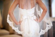 Lace veil wedding dress pretty lace elegant bride veil