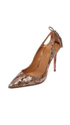 AQUAZZURA Forever Marilyn Pumps. #aquazzura #shoes #pumps