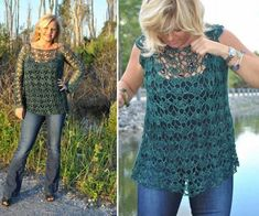Sweet Clara Crochet Top