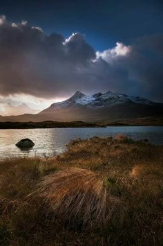 Sgurr nan Gillean and Loch Caol. Russell Sherwood || Scotland, the home of Blues & Browns | Beautifully Tailored Clothes | Tailor Made In Scotland | www.bluesandbrowns.co.uk
