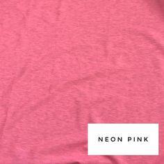 Neon Pink- Women's Shorties Skinny Sweats, Fun Prints, Accent Colors, Neon, Soft Light, Romper, Fabric, Pink, Tunic