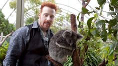 Sheamus with a kola