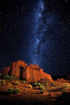 By Artist Unknown. Ciel Nocturne, Argentina Travel, South America Travel, Nature Pictures, Night Skies, Wonders Of The World, Nature Photography, Beautiful Places, Scenery
