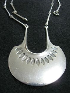 David Andersen Norway Pendant Necklace