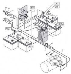 Yamaha G16A Golf Cart Wiring Diagram  Gas #golfcartdiy