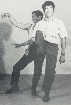 James Yimm Lee And Bruce Lee Together.