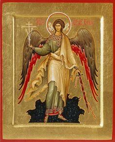 See the source image Religious Images, Religious Icons, Religious Art, Byzantine Icons, Byzantine Art, Greek Icons, Paint Icon, Angel Warrior, Russian Icons