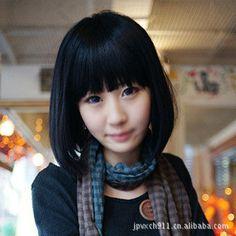 Resultado de imagen para cabello corto con fleco japanese