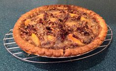 QUICK 'N EASY PEACH AND CHERRY PIE http://anastasiapollack.blogspot.com/2018/03/cooking-with-cloris-quick-n-easy-peach.html