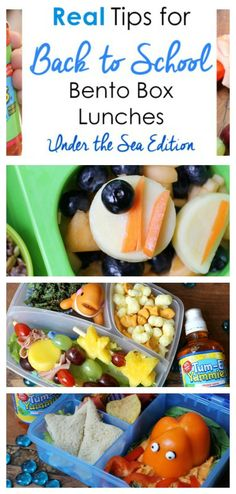 Want to create yummy lunches that your kids will love? We have 5 real tips for making back-to-school Bento Box Lunches, inspired by this summer's hottest movie, Finding Dory. Thanks to Tum-E Yummies for collaborating for this sponsored post just in time f